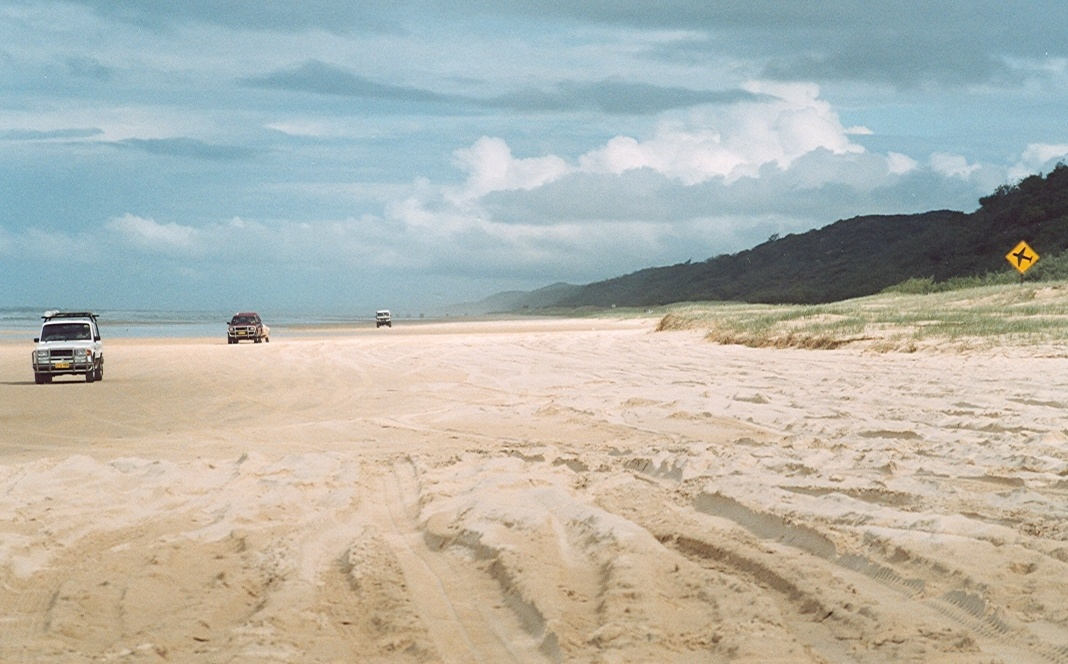 World Heritage Site Australia - Frasier Island