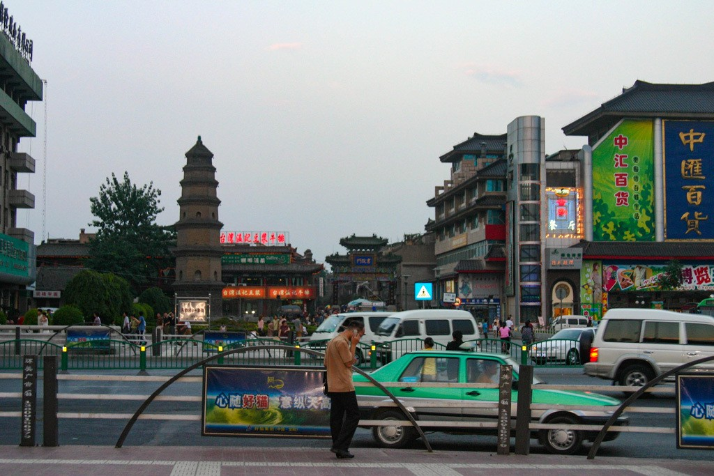 Wondering where to stay in Xian? Right in the middle of the city, you can find all the taxis, restaurants, and things to do that you could ask for.