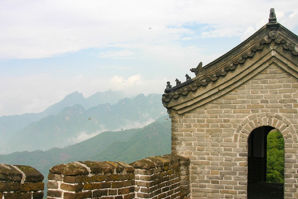 Great Wall of China World Heritage Site = Gatehouse