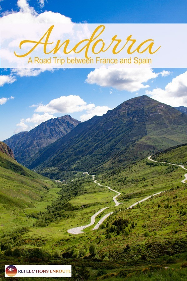 Andorra, one of the smallest countries in Europe. Let's Go!