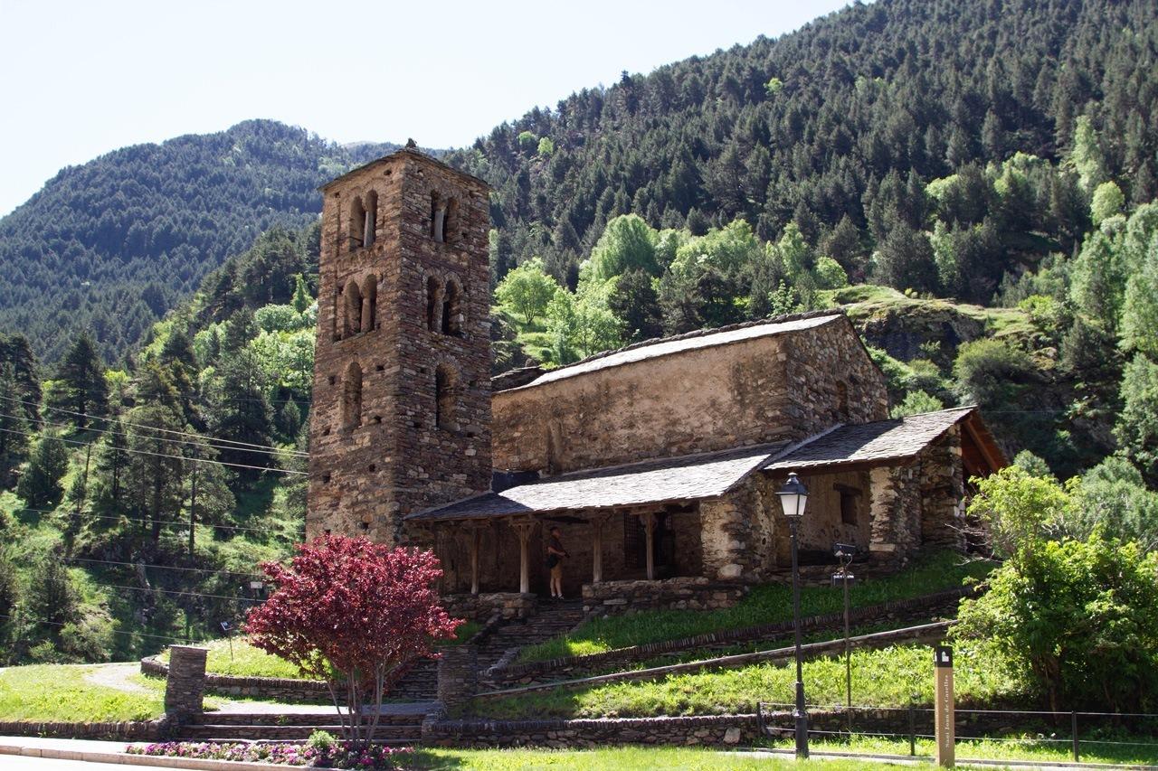 Sant Joan de Castelles Church Andorra