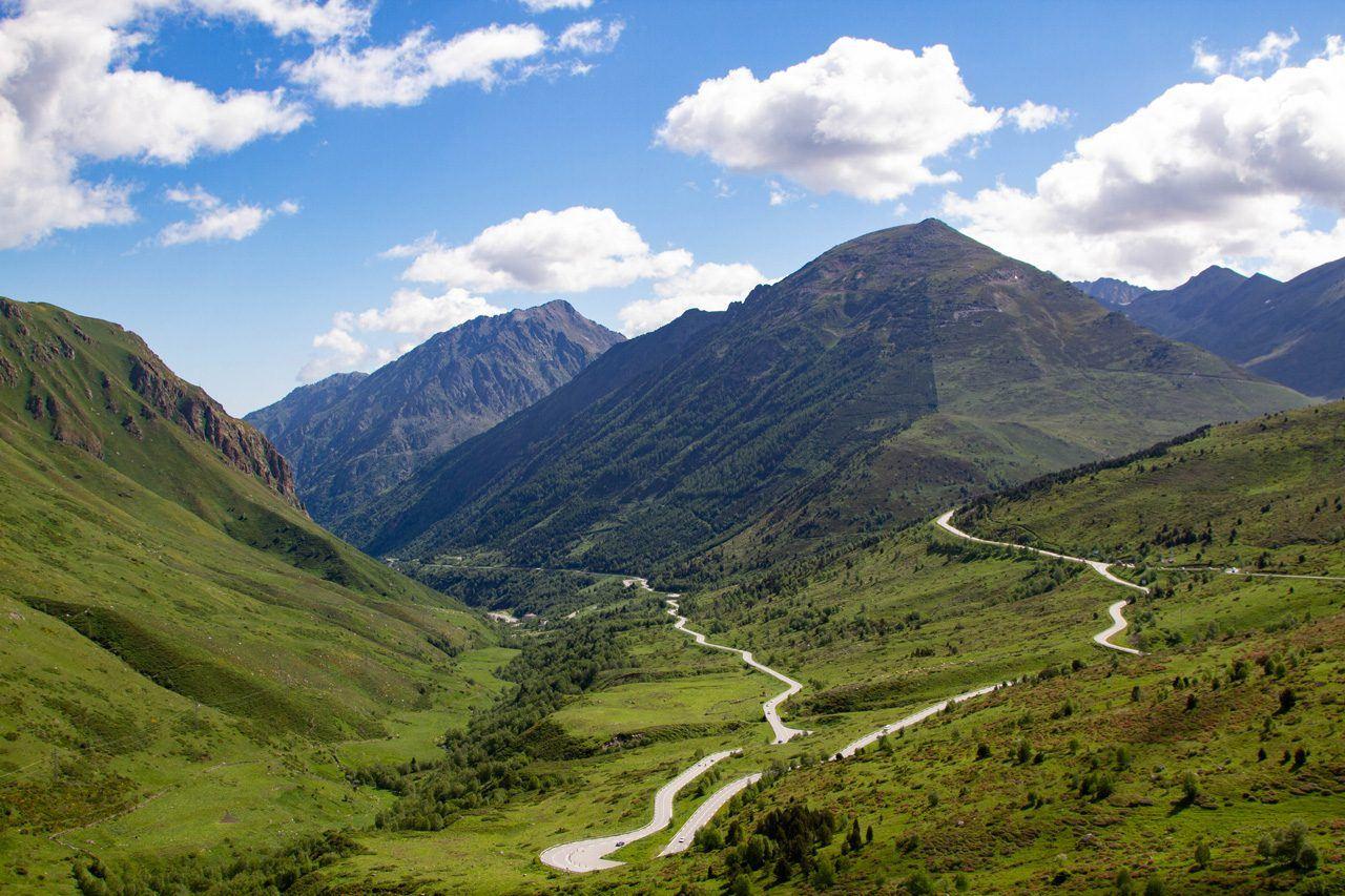 Road in Andorra