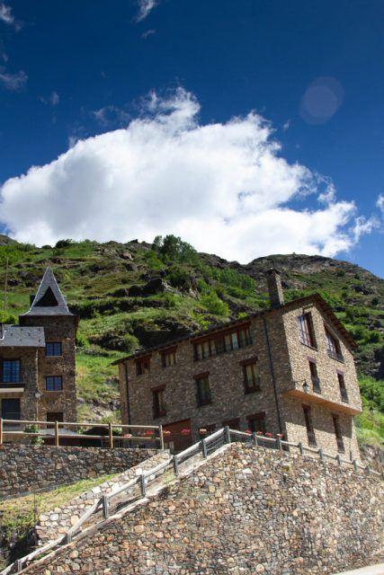 Andorran stone house