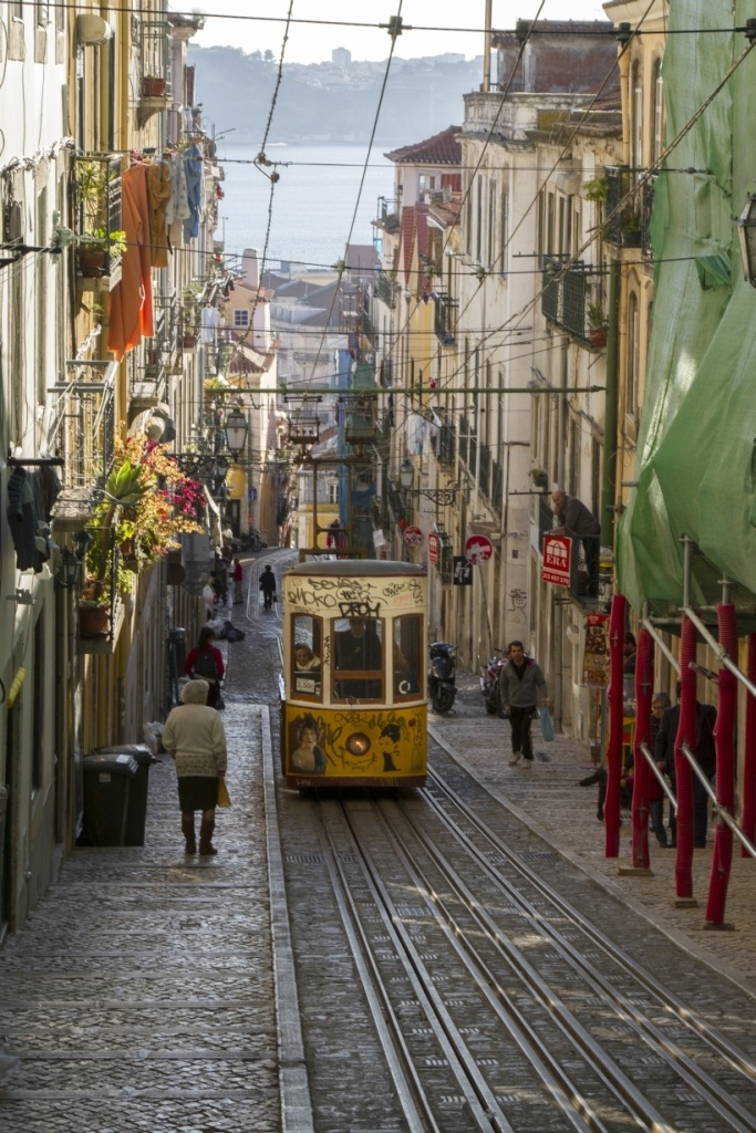Travel Lisbon...in a Funicular!