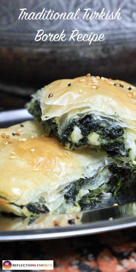 Traditional Turkish Borek - my absolute favorite quick and easy dish from traveling in Turkey. Our good friend teaches us the borek recipe and gives us the best tips on how to make it!