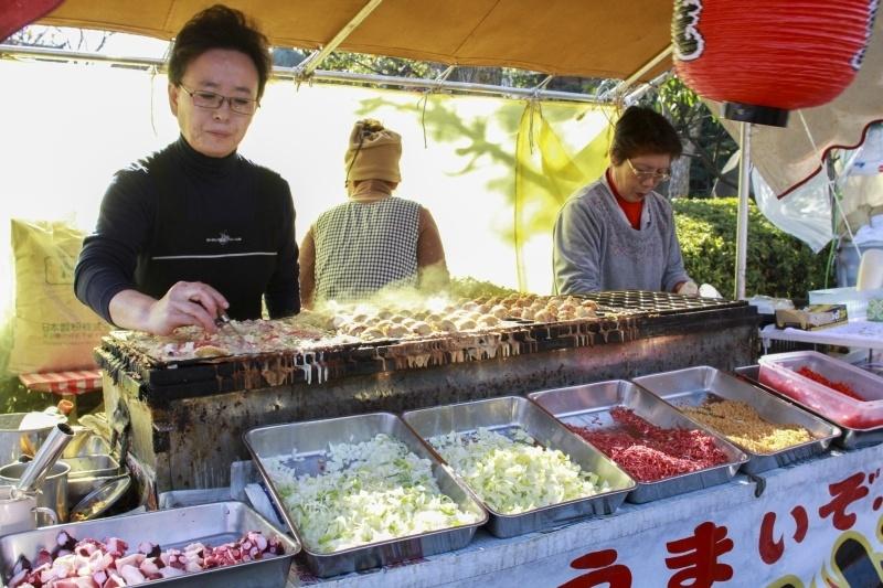 Ingredients for Takoyaki