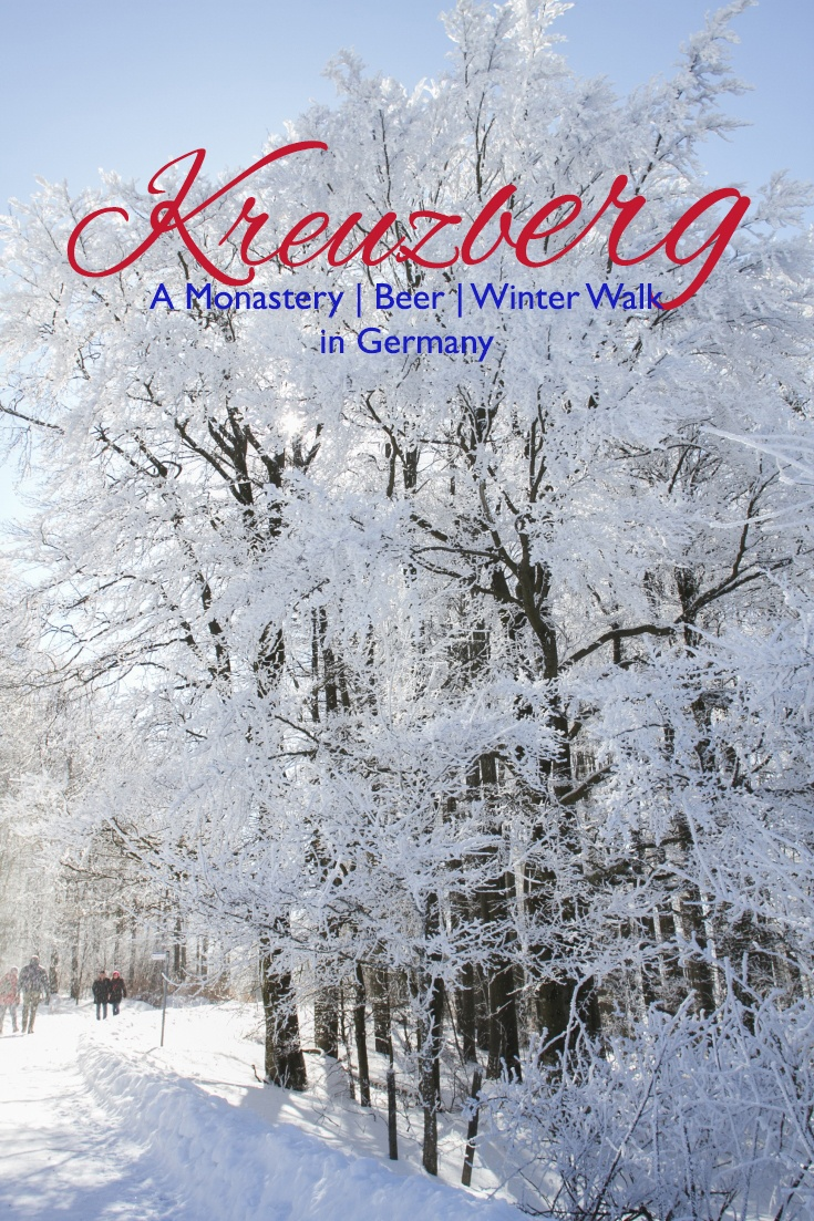 The perfect day out on a wintery day in Germany is at Kreuzberg Rhön!