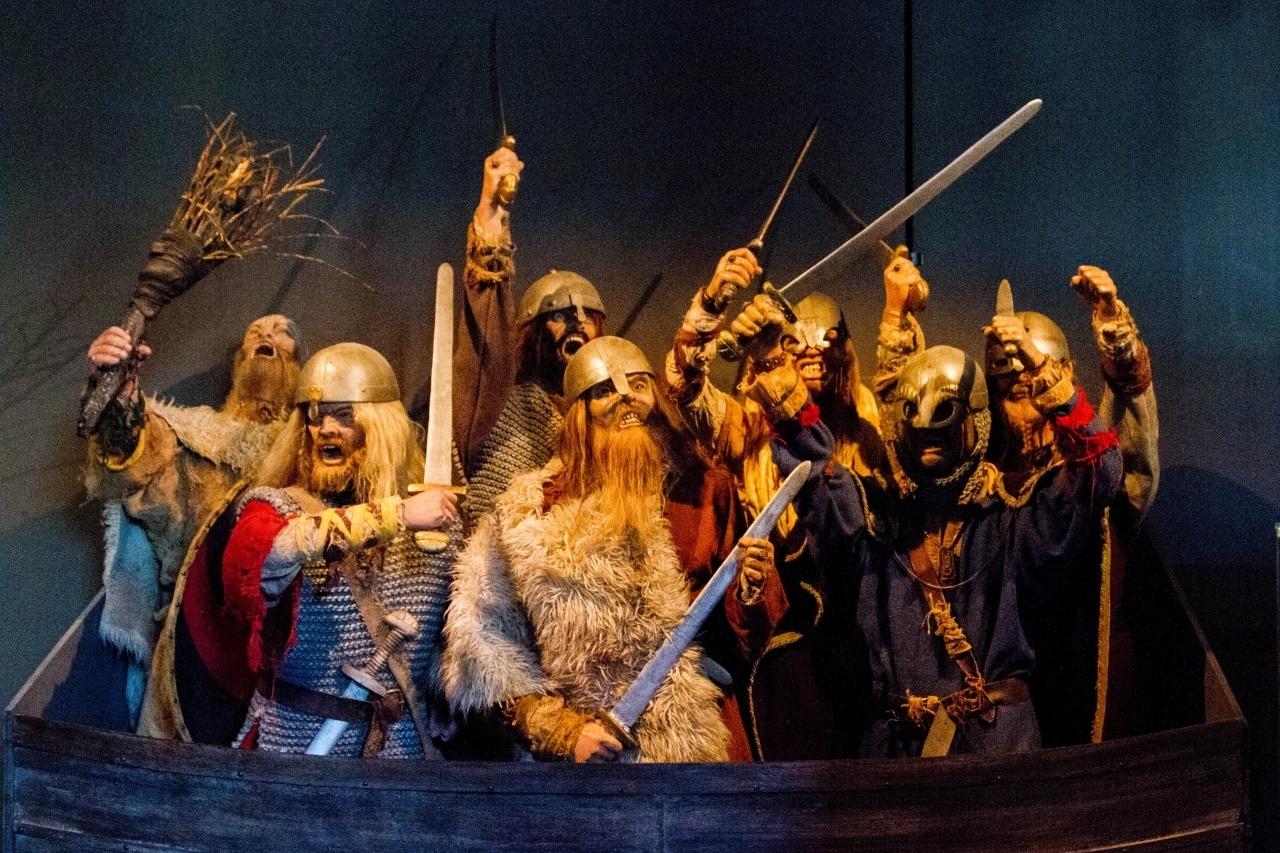 Viking exhibit in Stavanger, Norway