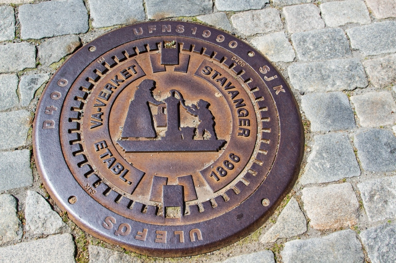 Manhole cover for Stavanger, Norway