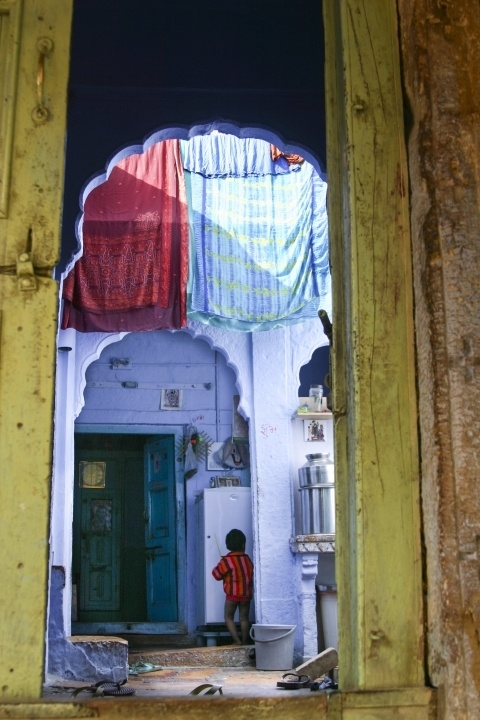 India Courtyard