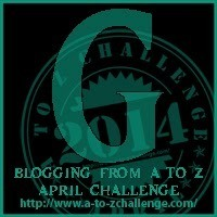 """It's """"G"""" Day for the Blogging from A to Z Challenge"""
