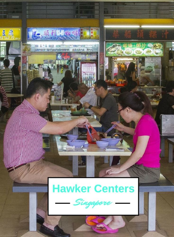 Hawker Centers Singapore