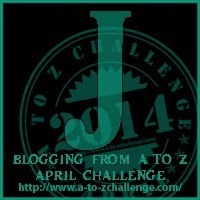 """It's """"J"""" Day for the Blogging from A to Z Challenge"""
