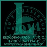 """It's """"L"""" Day for the Blogging from A to Z Challenge"""