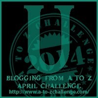 """It's """"U"""" Day for the Blogging from A to Z Challenge"""