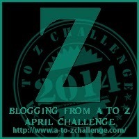 """It's """"Z"""" Day for the Blogging from A to Z Challenge"""