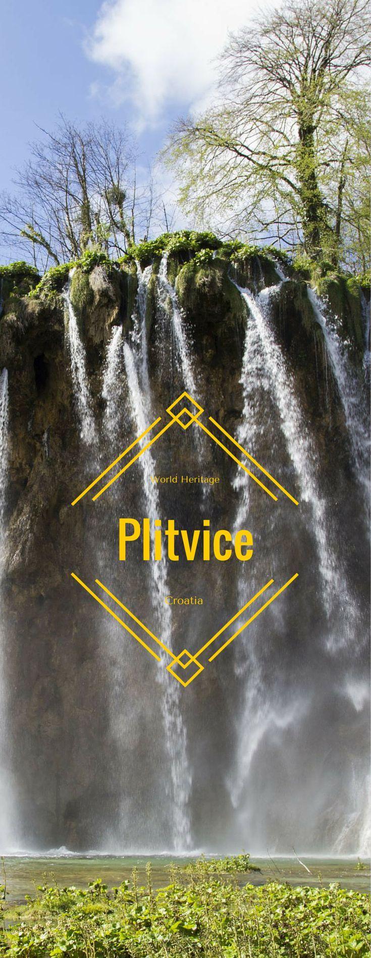 World Heritage Site - Plitvice Lakes, Croatia