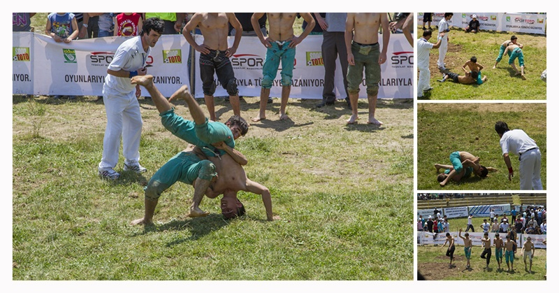 Bullfighting Oil Wrestling