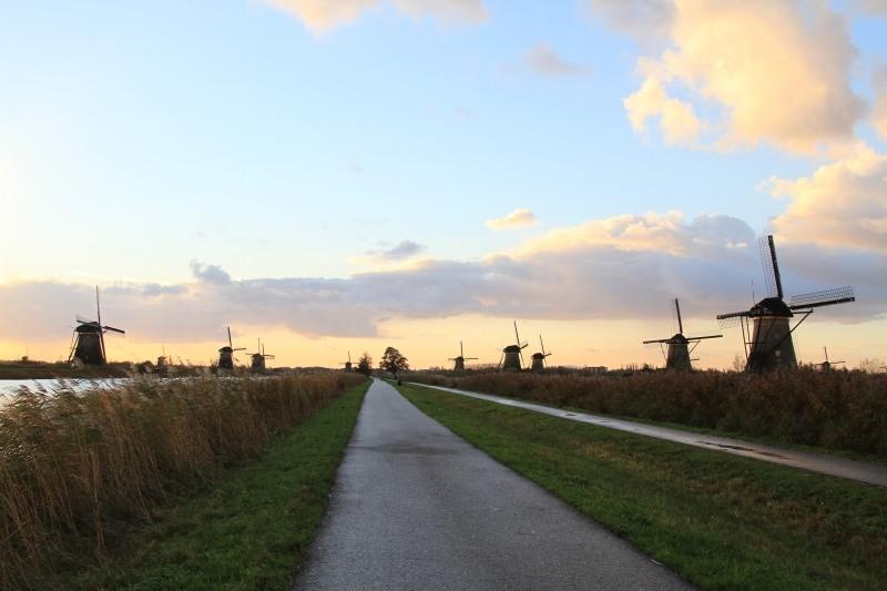 Walk Kinderdijk