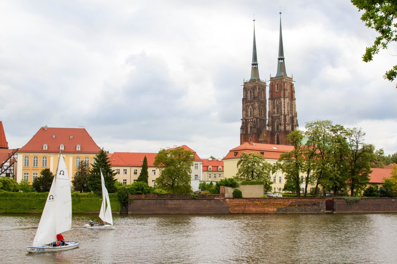 Plenty of things to do in Wroclaw, like sailing on the River Odra.