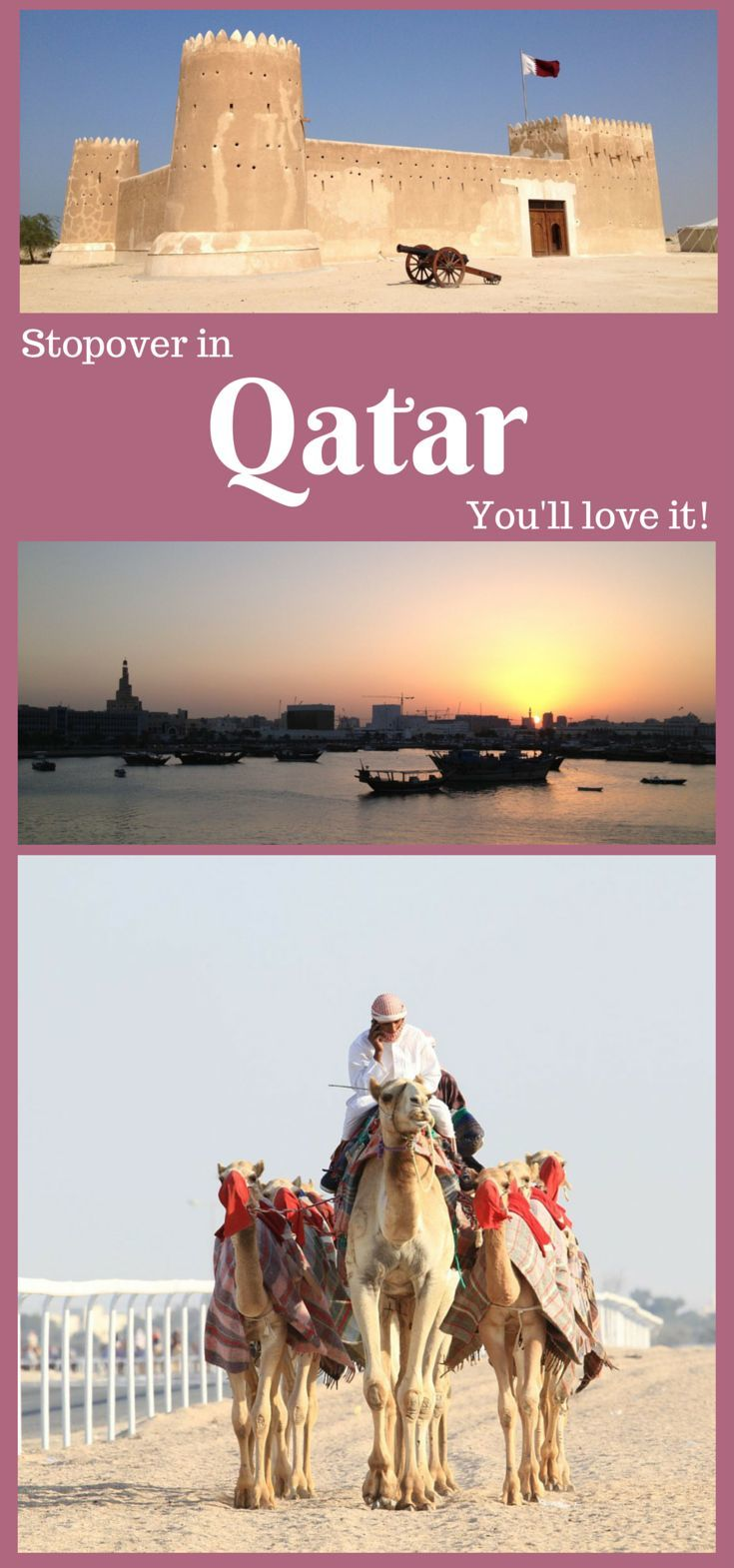 One day in Qatar Seeing All the Tourist Sights