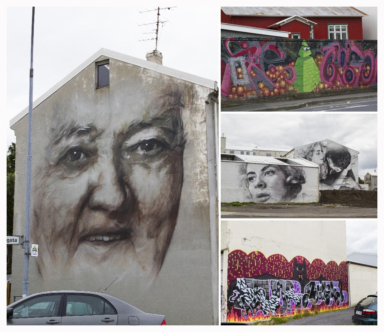 Iceland Road Art