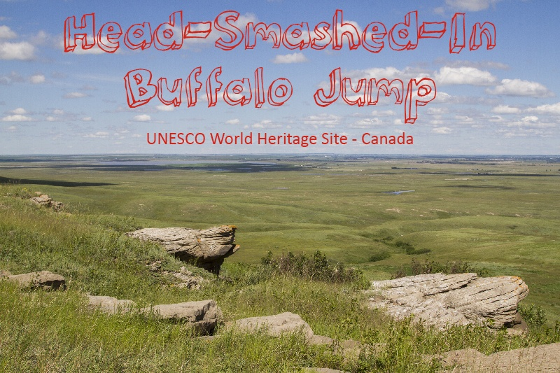 Head-Smashed-In Buffalo Jump Canada