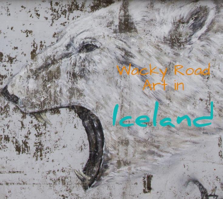 Wacky Road Art Iceland
