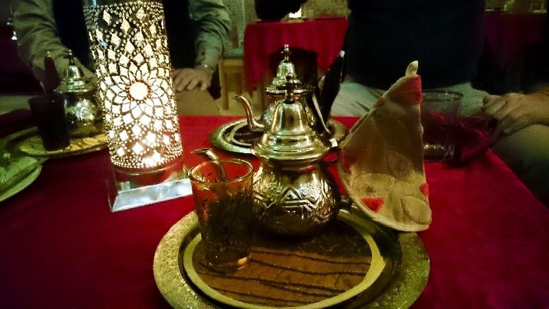 Making Mint Tea