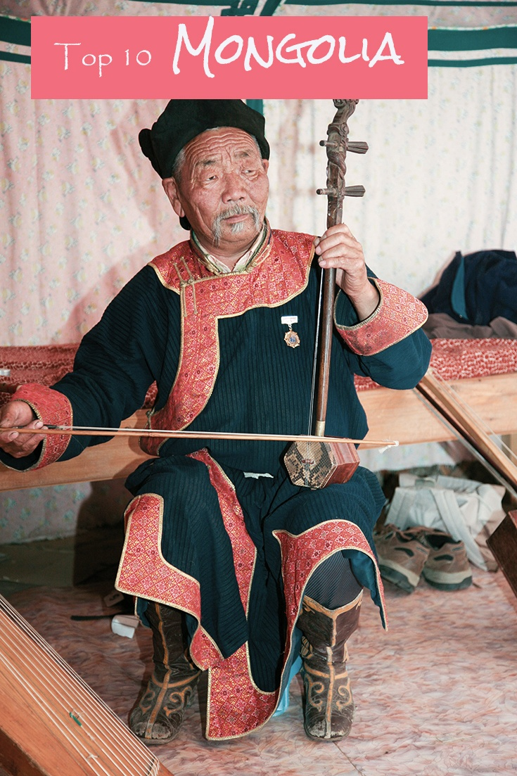Have you ever wanted to listen to an authentic Mongolia throat singer? This man visited us in our ger and put on a show. Mongolia was full of cultural experiences, and if you click through you can read all about our top ten things to do in the land of Genghis Khan. ..................................... itinerary | world heritage | guide | travel tips| world music | guide | things to do | yurt | Mongolia tour | travel planning | travel tips | Ulan Baatar ~ReflectionsEnroute