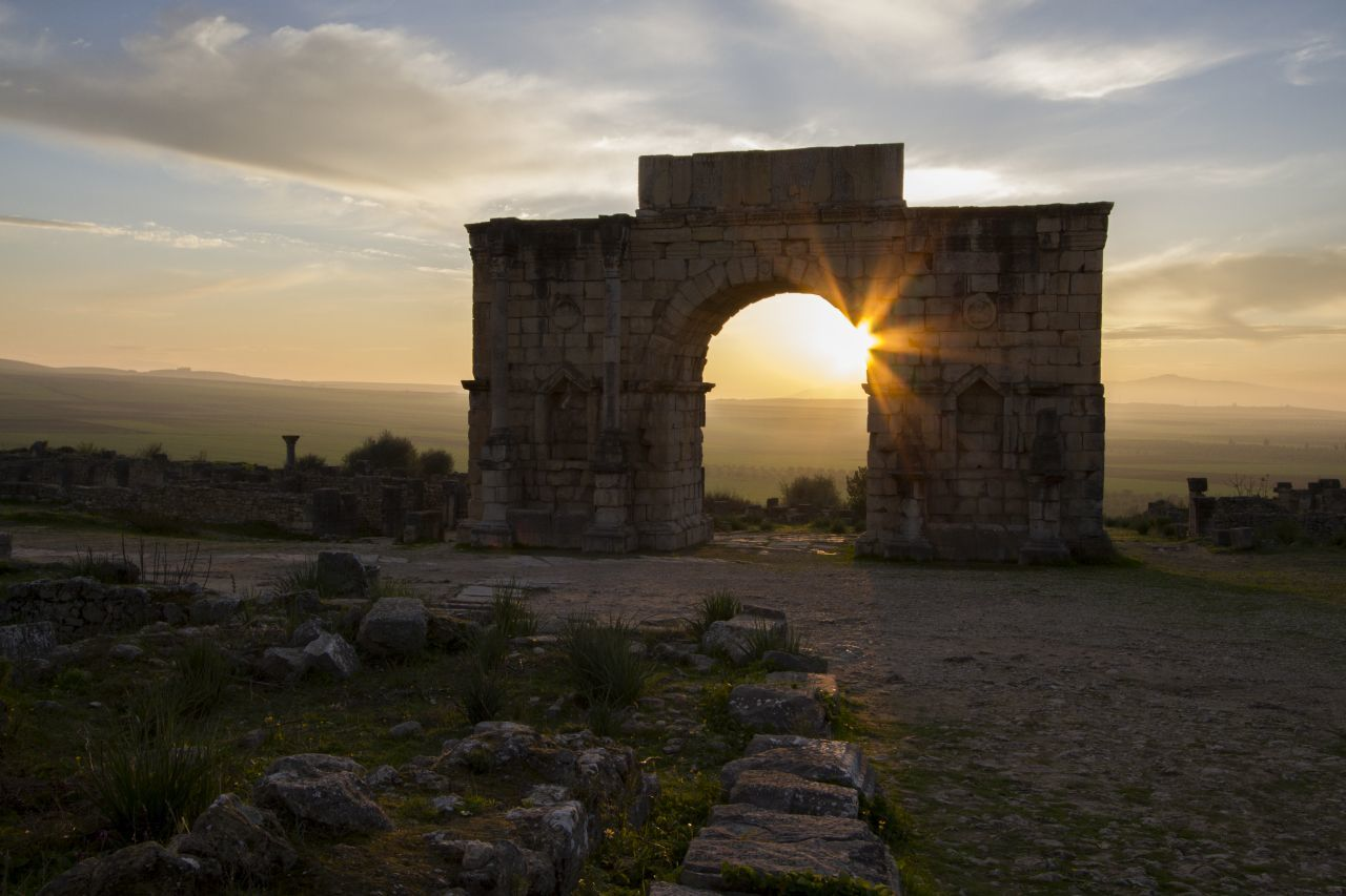 Visiting Volubilis - A UNESCO World Heritage Site