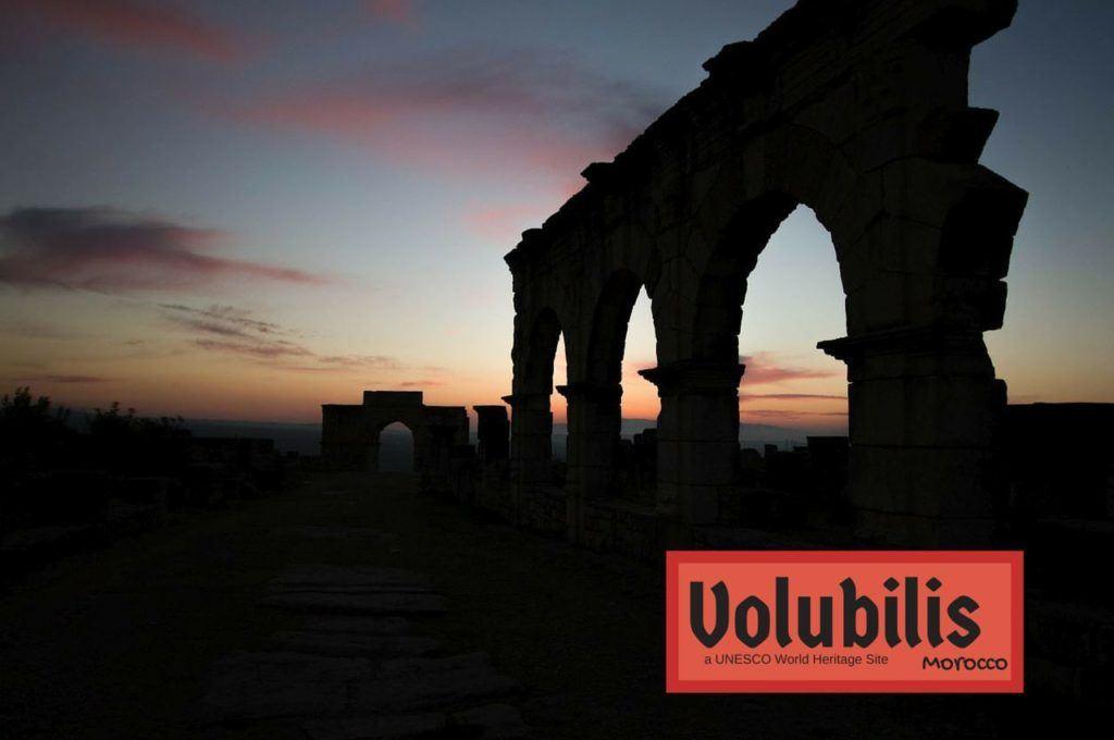 Visiting Volubilis - A UNESCO World Heritage Site.