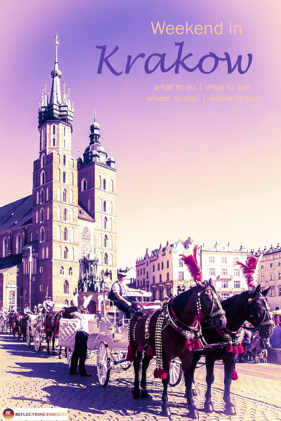 Looking for a European citybreak that will deliver romance, history, great food, and colorful souvenirs? Go to Krakow!