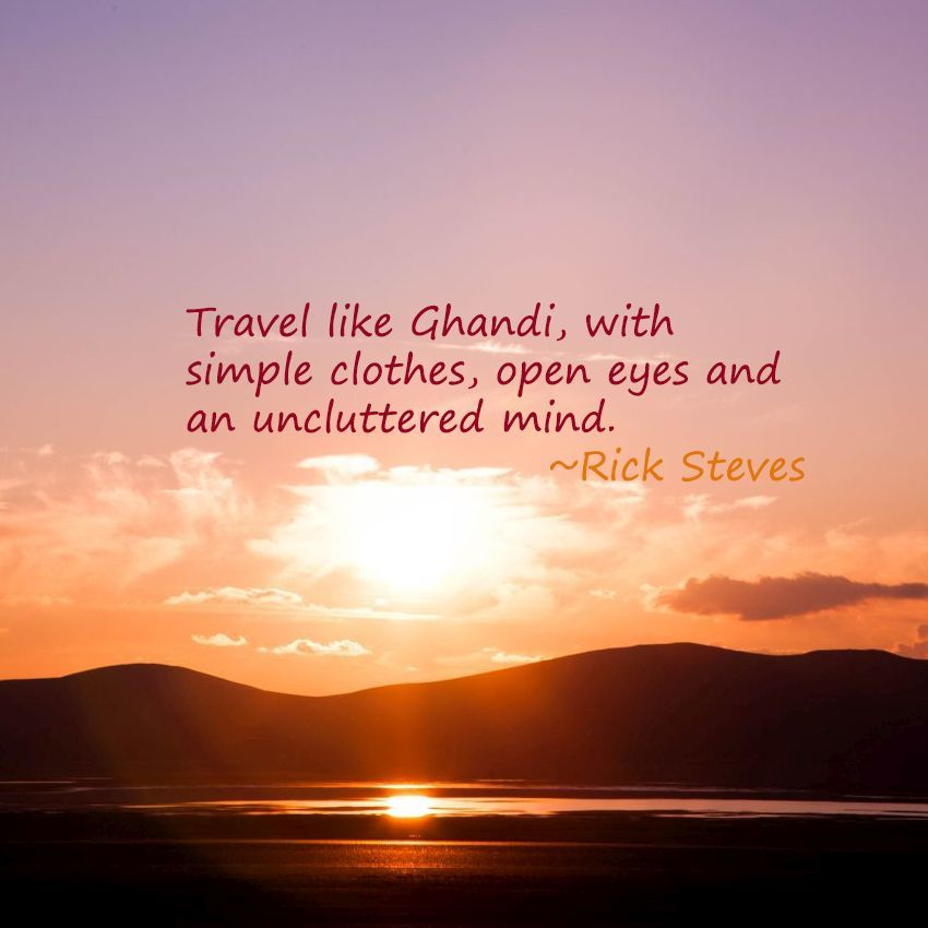 Weekend Travel Inspiration - Rick Steves