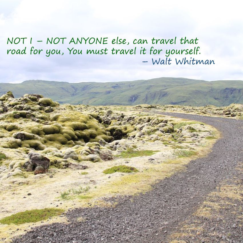 Weekend Travel Inspiration - Walt Whitman