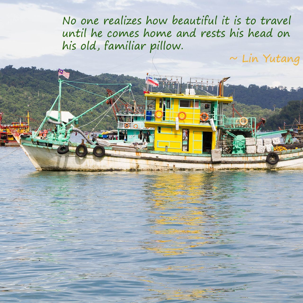Weekend Travel Inspiration - Lin Yutang