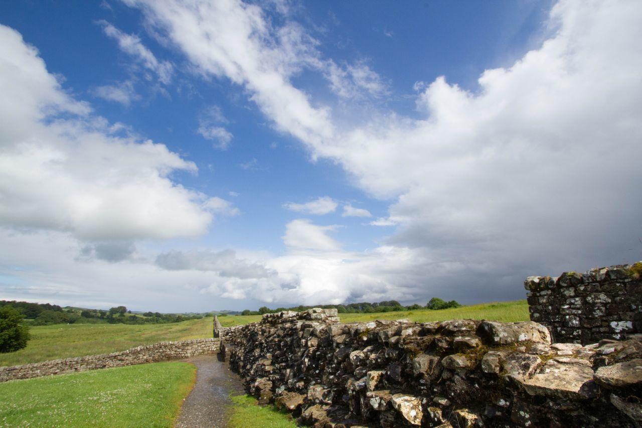 Hadrians Wall England Roman Fort