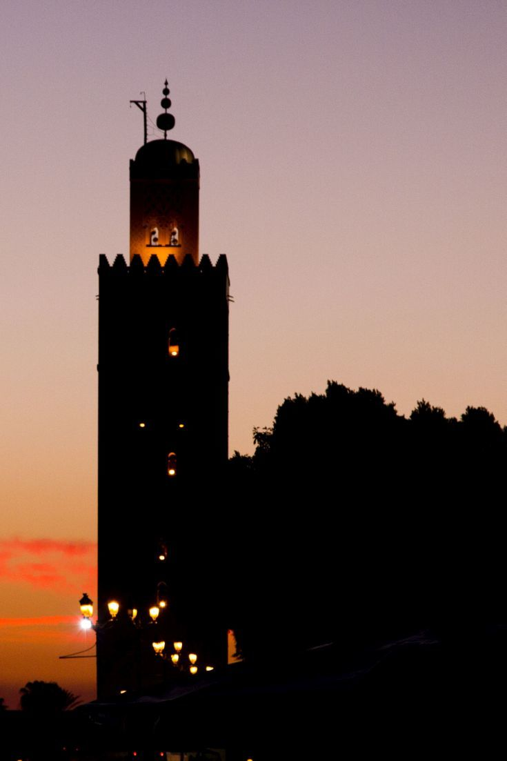Sunset on Morocco