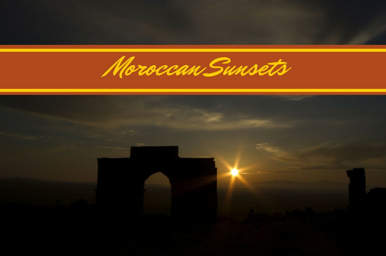 Sunset on Morocco