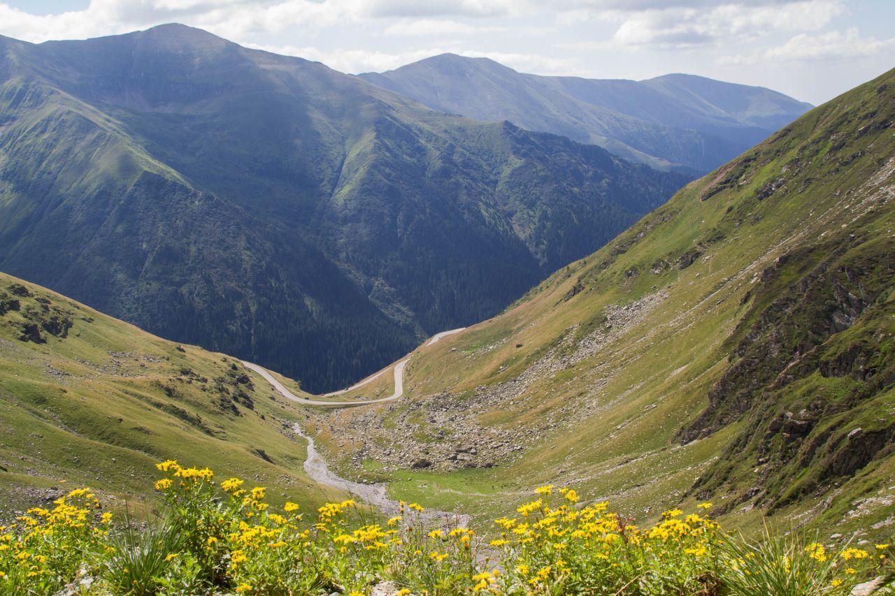 Transfăgărășan Highway Romania