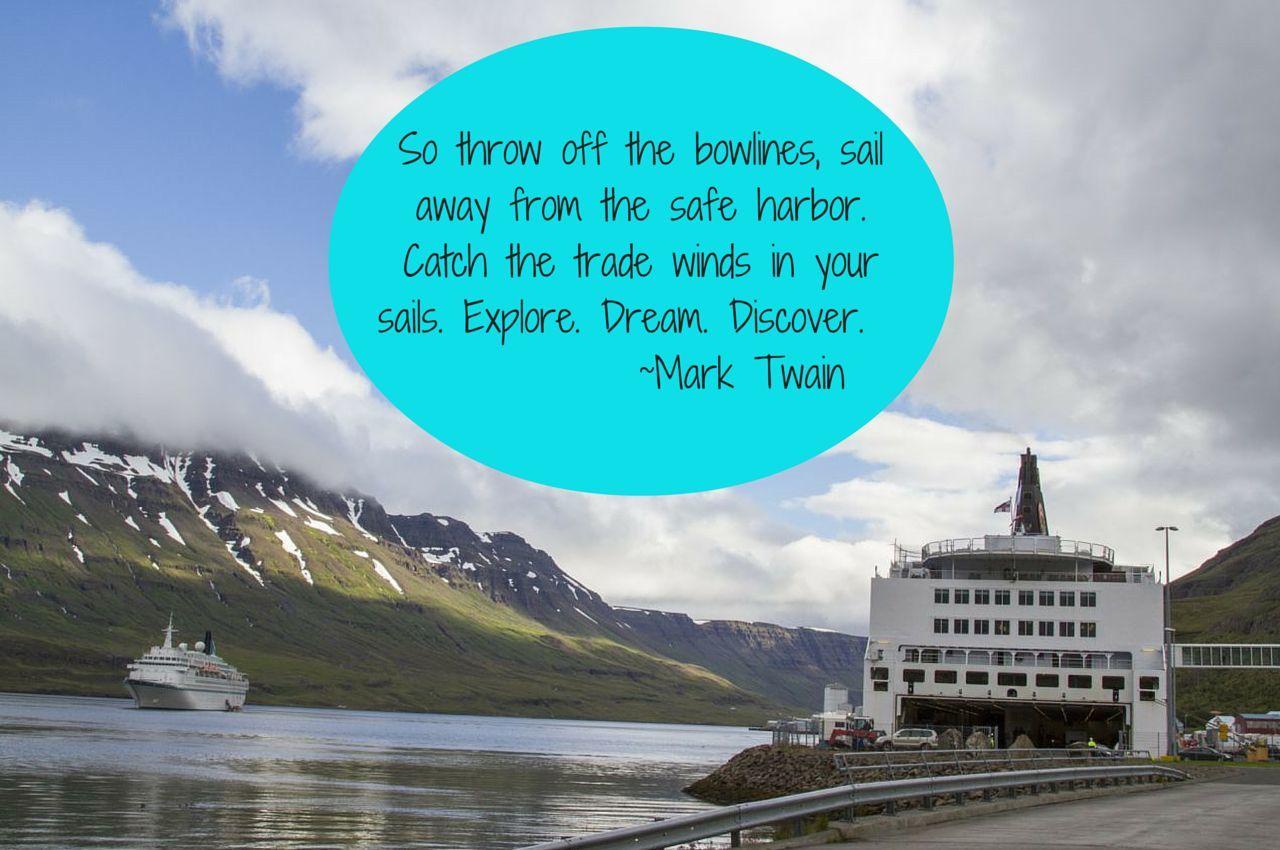 Weekend Travel Inspiration - Mark Twain