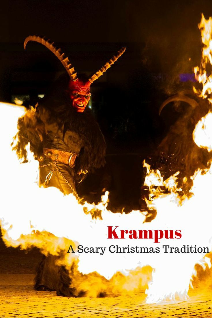 Krampus A Scary Christmas Tradition