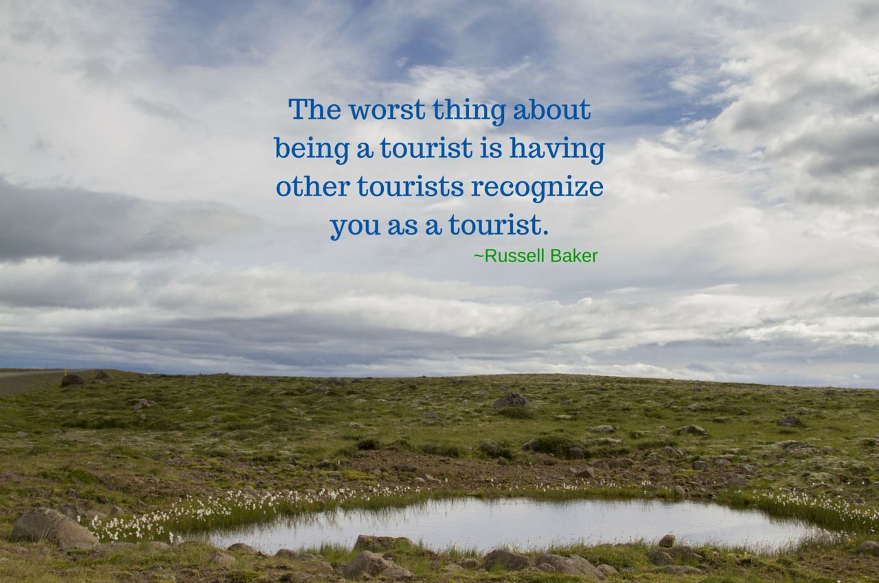 Weekend Travel Inspiration - Russell Baker