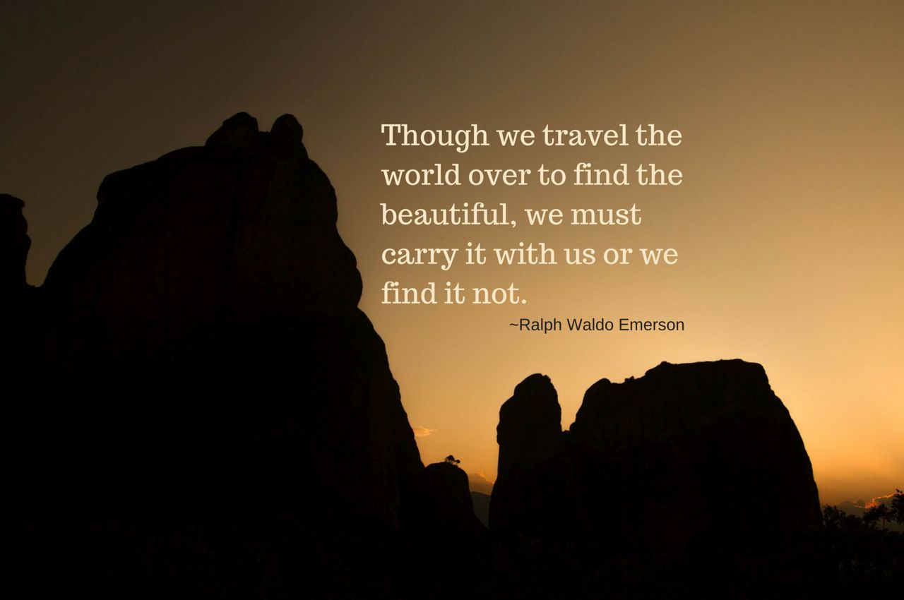 Searching for Beautiful - Weekend Travel Inspiration