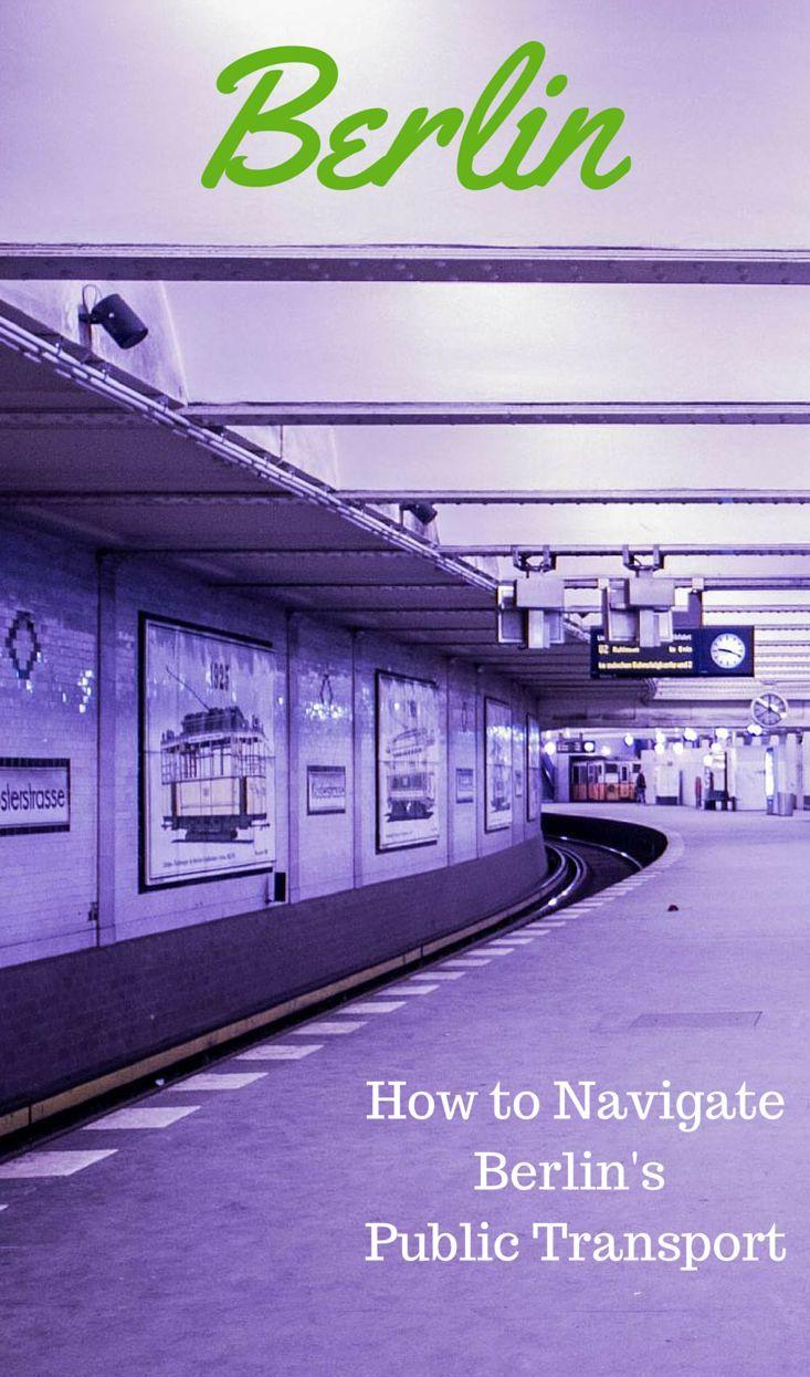 How to Navigate Berlin's Public Transport
