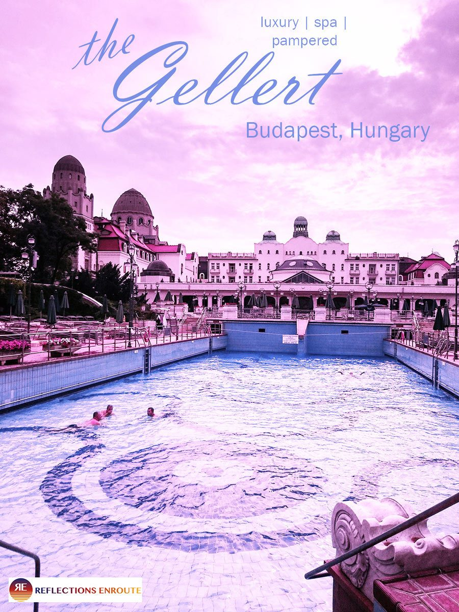 Gellert Baths, an age-old and elegant tradition dating back to the Ottomans. You'll love it!