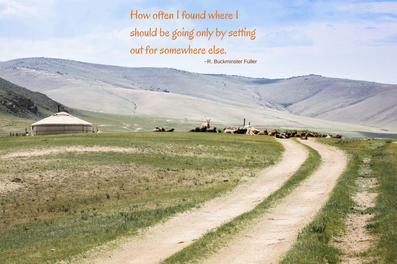 Letting the Path Find You - #wkendtravelinspiration
