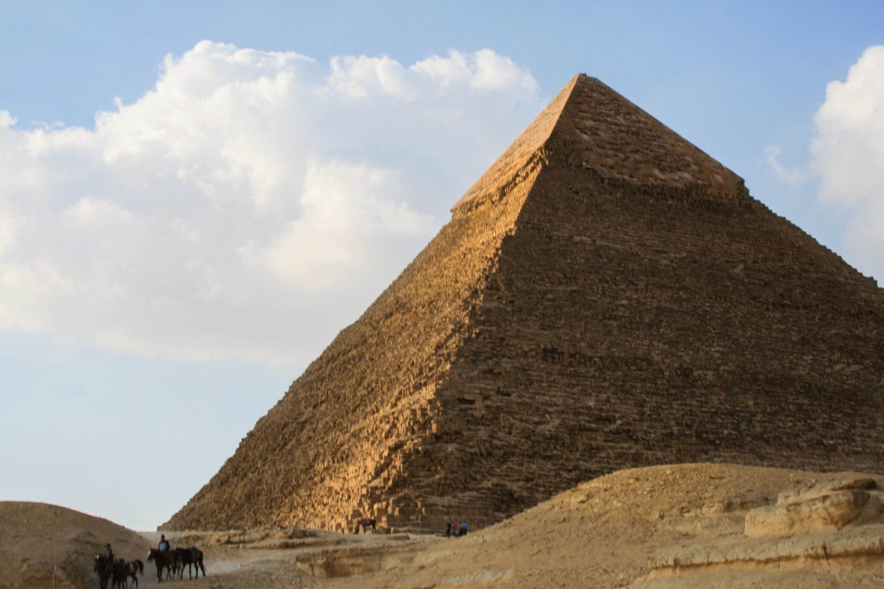 Claustrophobia in the Pyramid of Cheops Egypt
