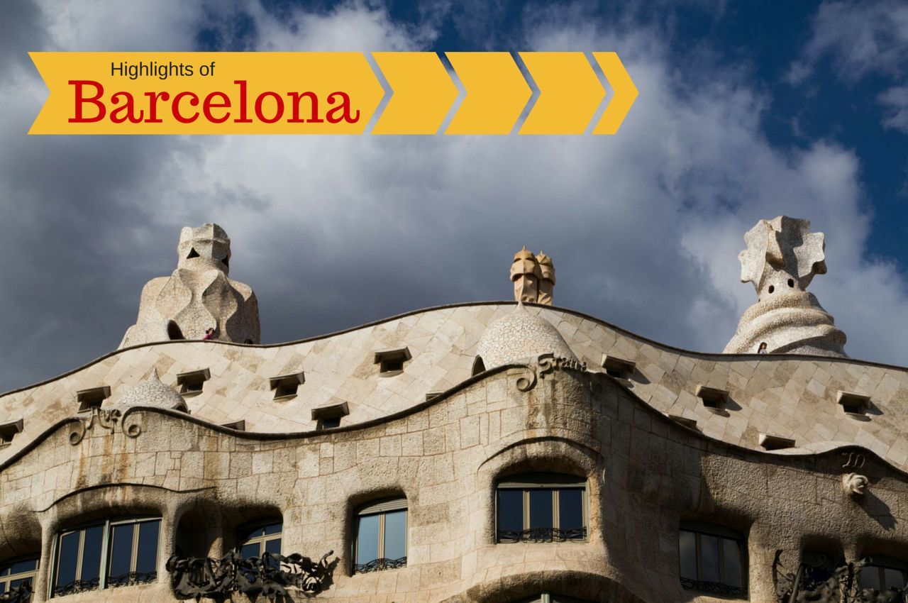 Highlights of Barcelona in One Just Day