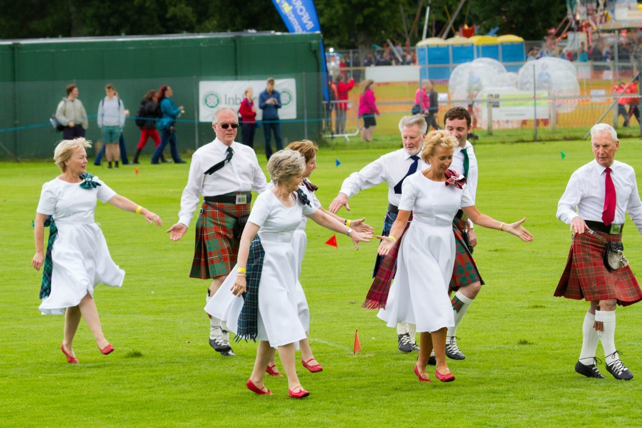 Traditional Scottish dance in Inverness